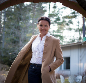 Hannele Eklund toiminnanjohtaja Myrskyvaroitus - Storm Warning ry