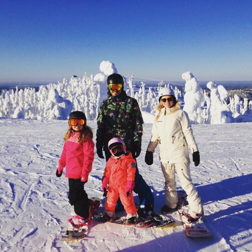 Arttur Kulvik haluaa pitää huolta, että myös hänen lapsensa voivat nauttia talvista ja laskemisesta.